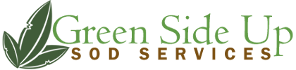 Logo, Green Side Up Sod Services - Grass Sod